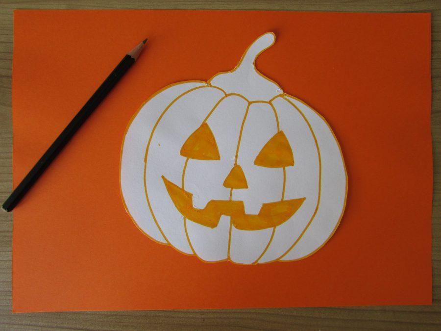 Calabaza terrorífica de Halloween