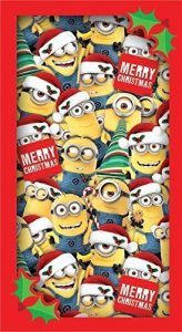 Tarjeta de Navidad de Minions para Navidad