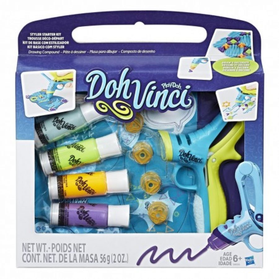 Doh Vinci para manualidades y regalar a los niños por Navidad
