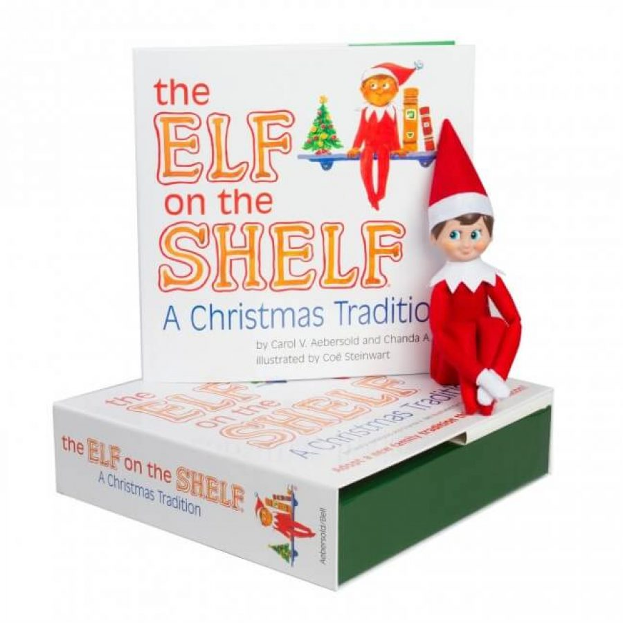 Libro del Elf on the Shelf, tradición navideña.