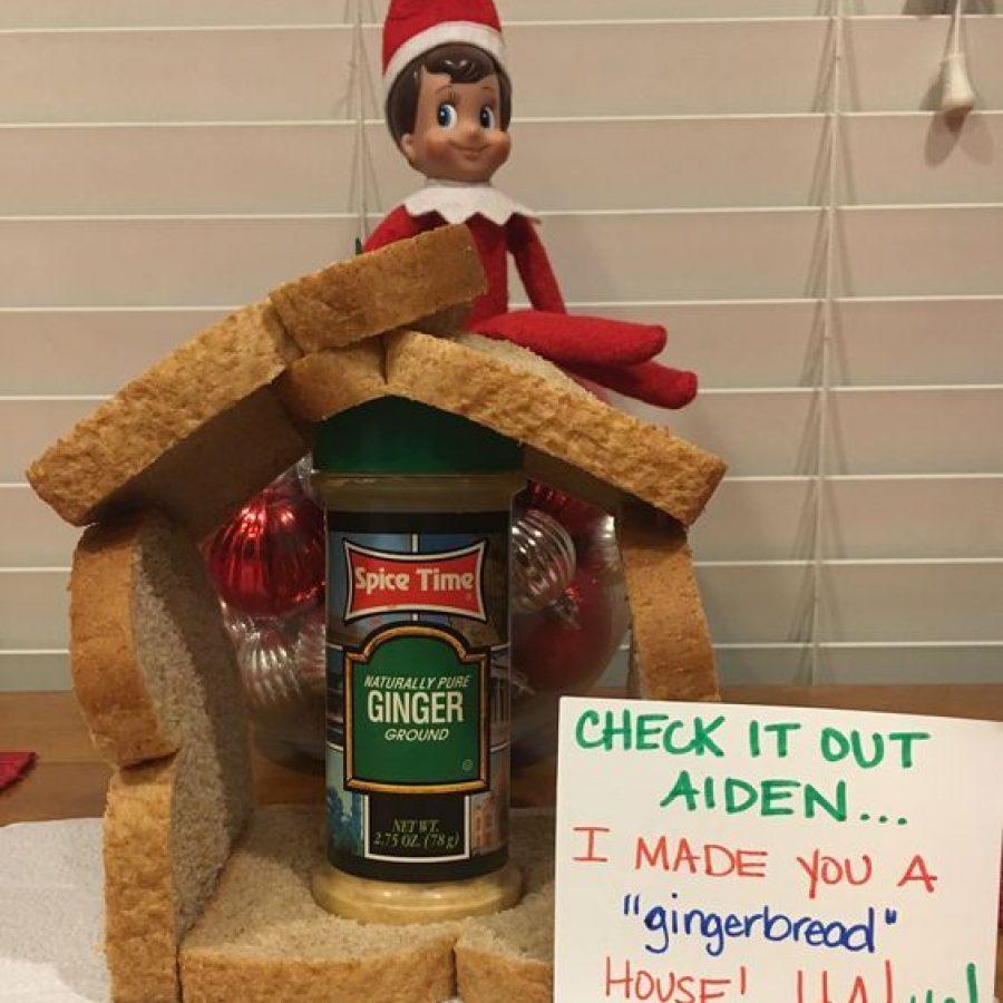 Elf on the Shelf y sus mensajes para los niños.