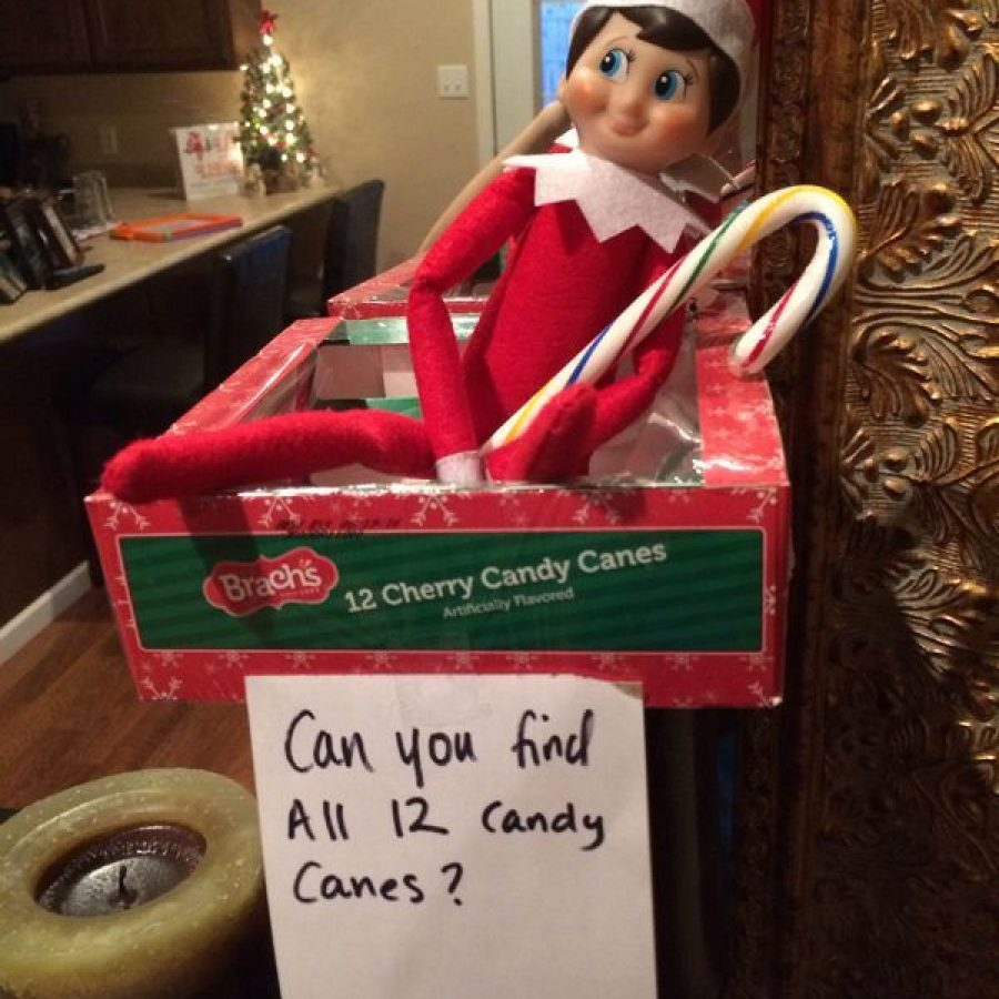 Elf on the Shelf y las mejores travesuras con pistas.