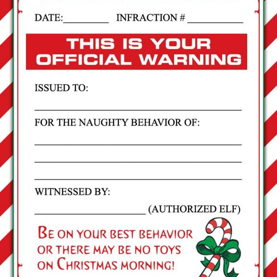 Elf on the Shelf y sus informes para Santa Claus