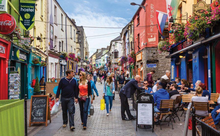 Calles de Galway, Irlanda.