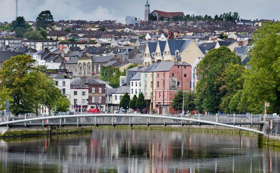 Panorámica de la ciudad de Cork