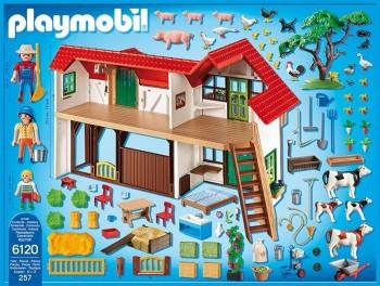 Granja Playmobil para regalas a los niños por Navidad