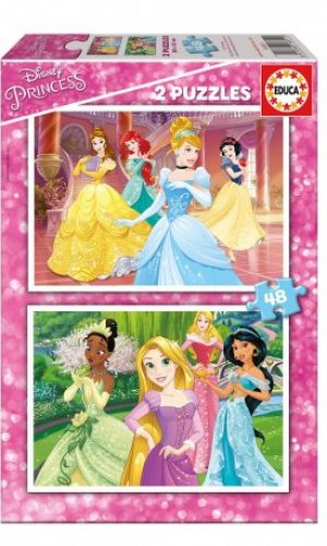 Puzzle de princesas Disney para Aideen por Navidad