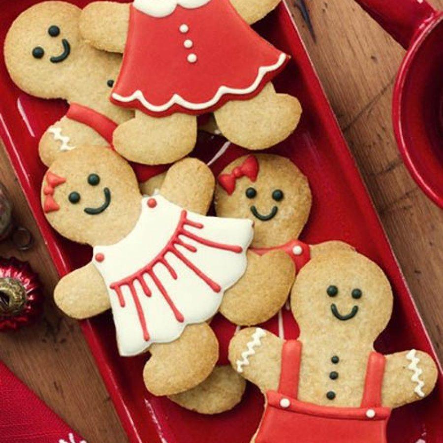 Receta gingerbread men para Navidad