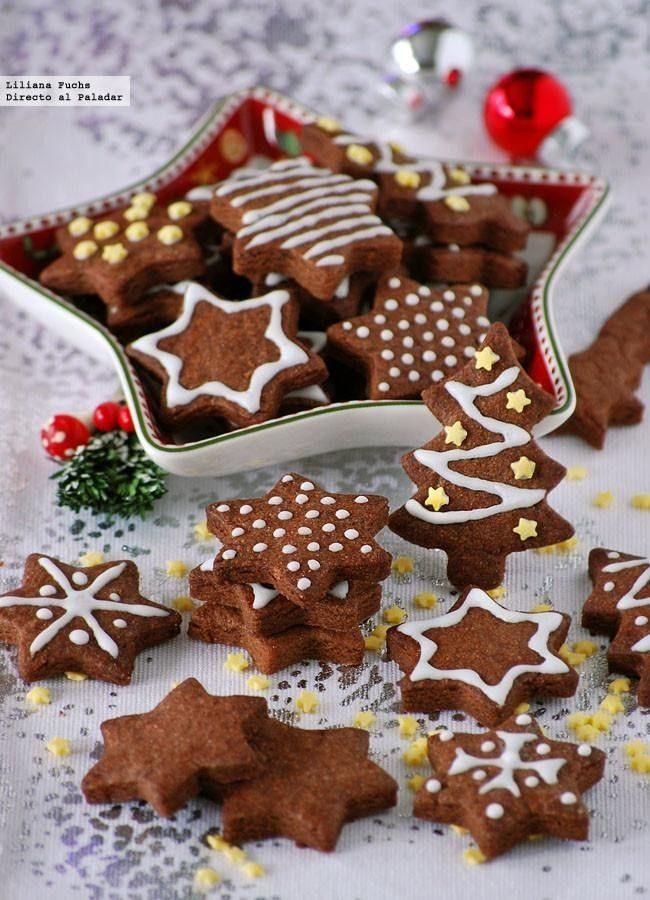 Galletas de jengibre con formas, Navidad