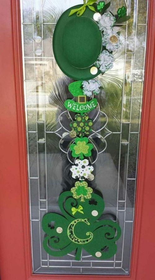 Decoración de St Patrick's Day en Irlanda