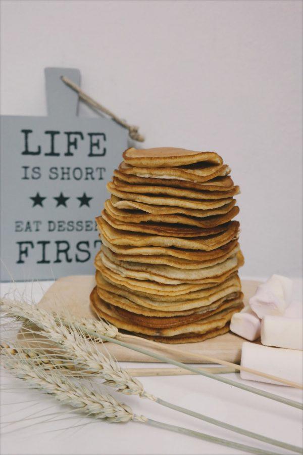 Receta de pancakes veganos