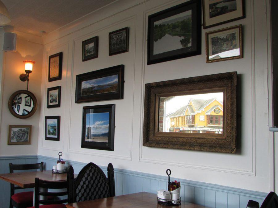 Bunkers Cafe en Killorglin, Irlanda