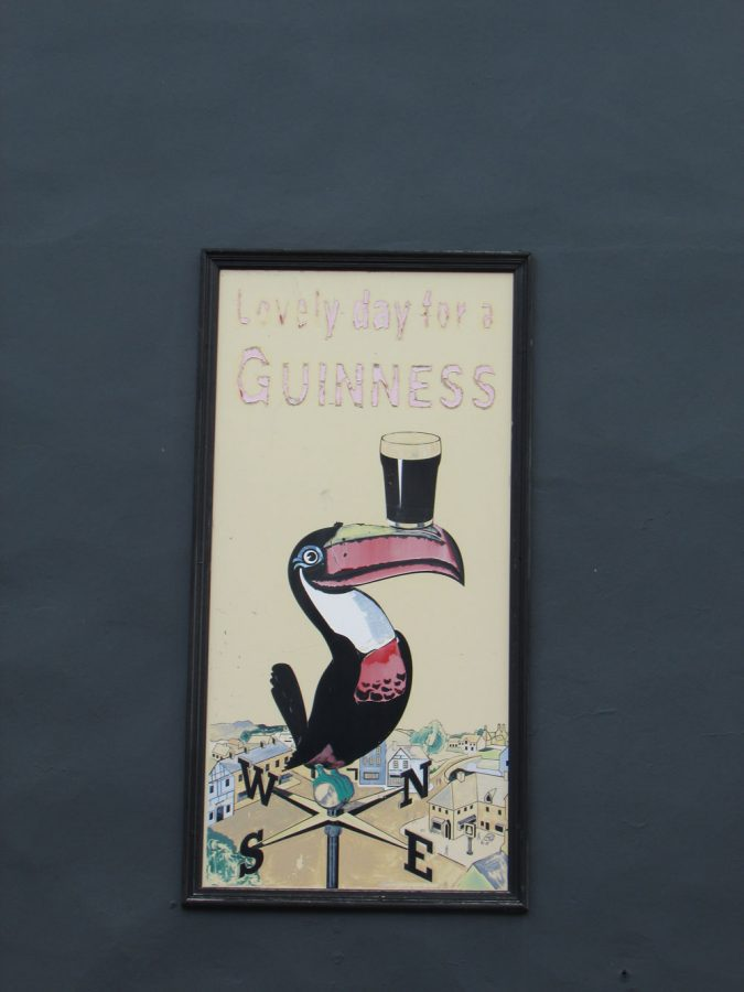Mural en Killorglin de Guinness