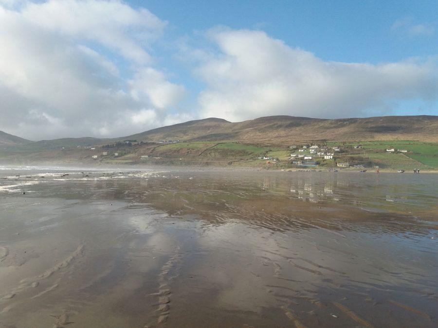 Playa de Inch en Irlanda