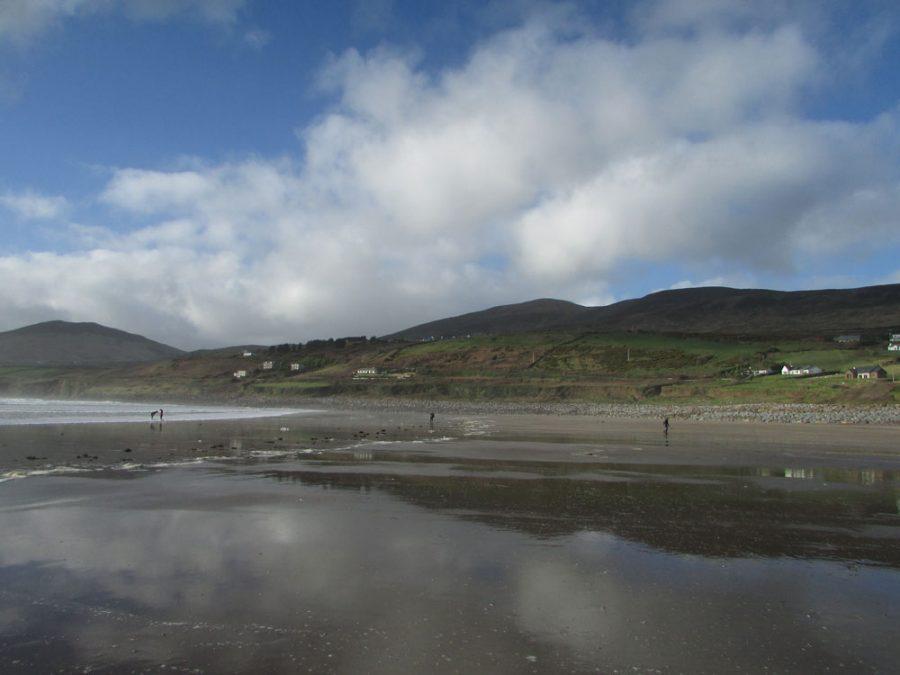 Playa de Inch en Dingle, Irlanda