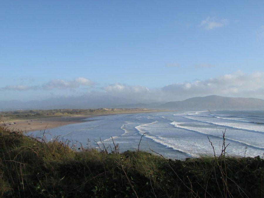 Panorámica de la Playa de Inch, Irlanda